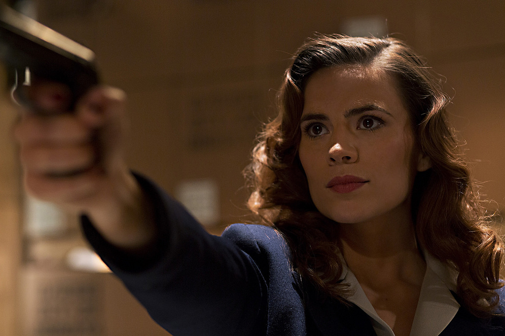 Hayley Atwell as Peggy - Flickr